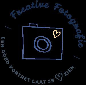 logo freative fotografie - een goed portret laat je ❤️ zien